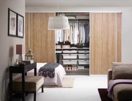 elfa ordnungssystem aufbewahrungsl sung lignum. Black Bedroom Furniture Sets. Home Design Ideas